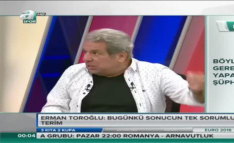 Toro�lu: Fatih Terim istifa etmeli