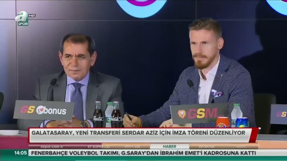 Serdar Aziz resmen Galatasaray'da