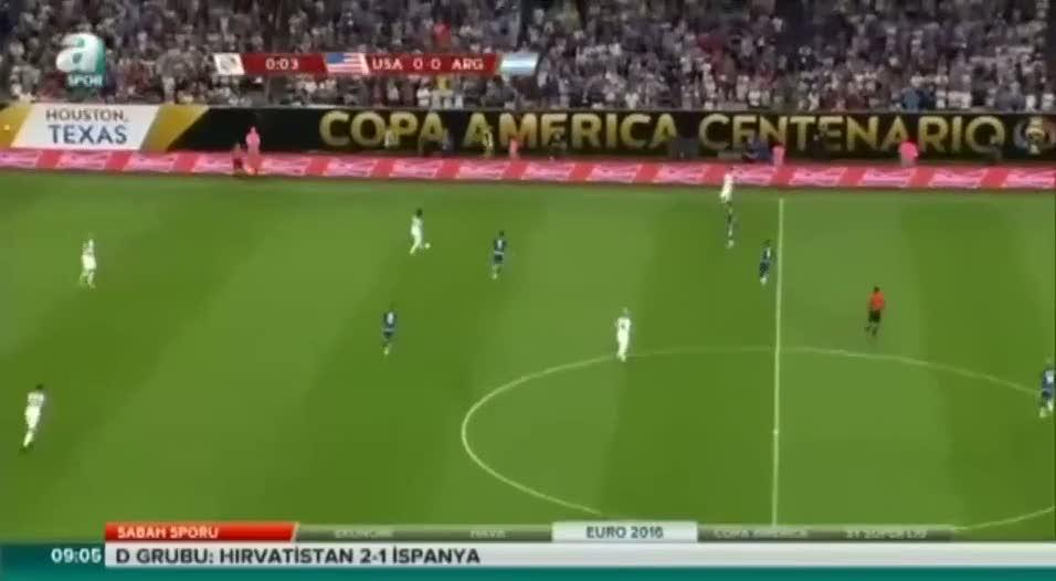 ABD 0-4 Arjantin (�zet)
