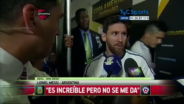 Messi milli tak�m� b�rakt�