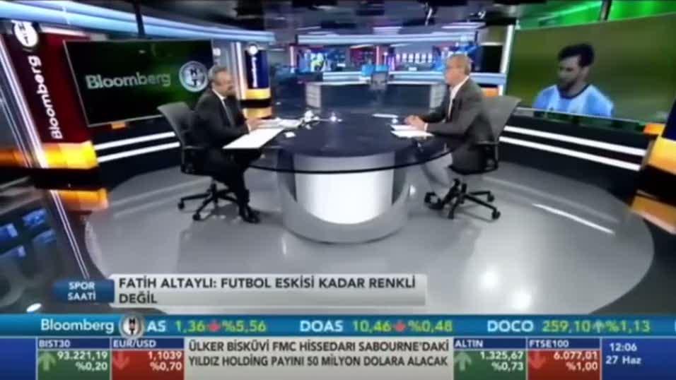 Fatih Altayl�'dan Terim'e sert s�zler