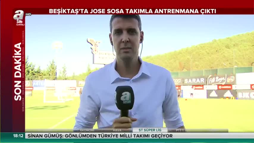 Jose Sosa antrenmana ��kt�