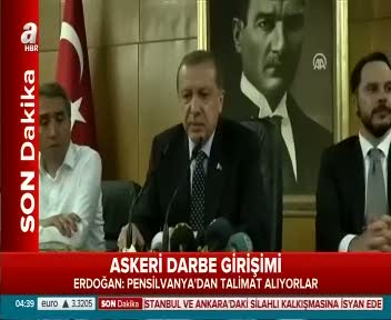 Erdoğan: Bu ülkeyi işgalcilere bırakmayacağız.