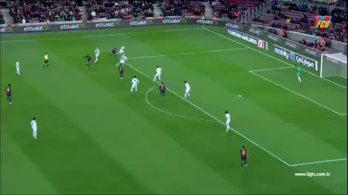 Barcelona'dan Adriano'ya veda klibi