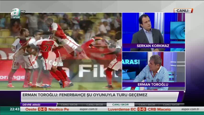 Erman Toro�lu'ndan penalt� yorumu!