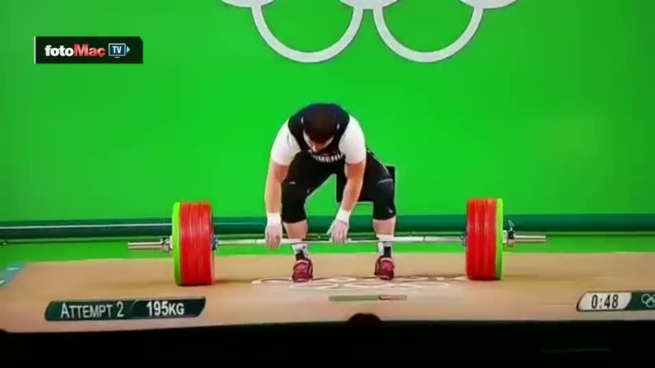Rio'da Ermeni sporcunun kolu kırıldı!