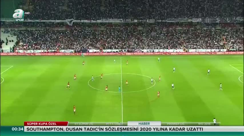 Be�ikta� 1-1 Galatasaray (Ma� �zeti)