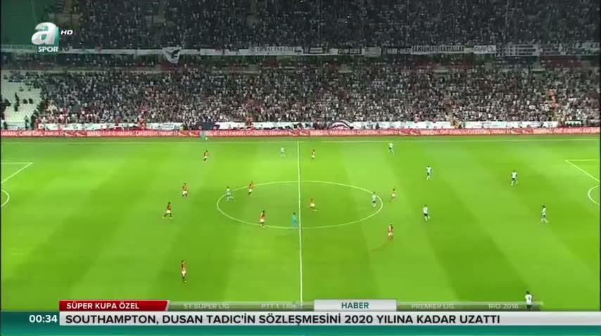 Be�ikta� 1-1 Galatasaray (Ma� �zeti)