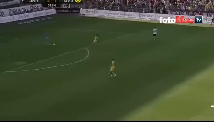 Emre Mor'un Dortmund'daki ilk golü