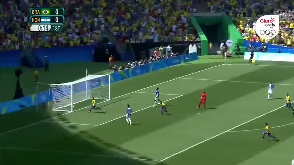 Neymar'dan Olimpiyat tarihinin en h�zl� gol�: 15. saniye