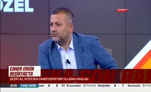 Caner Erkin Be�ikta�'ta!