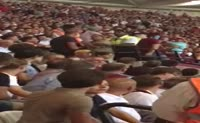 West Ham trib�n�nde kavga