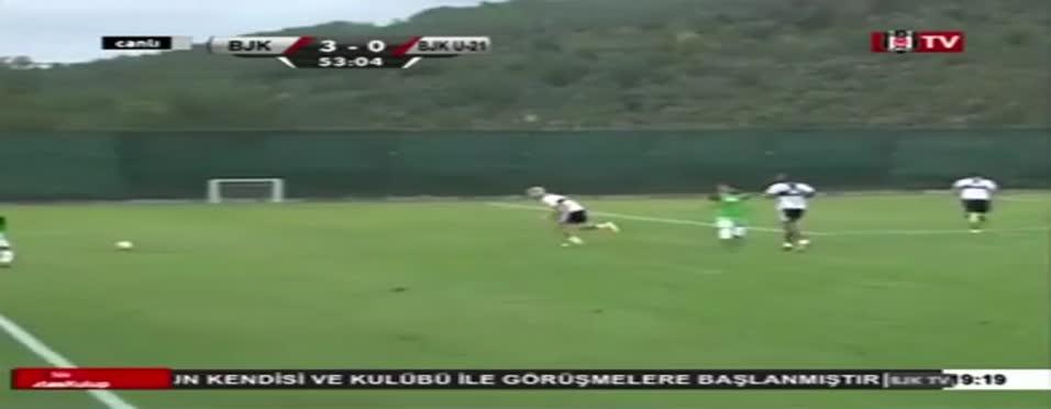 Aboubakar'�n Be�ikta�'taki ilk golü
