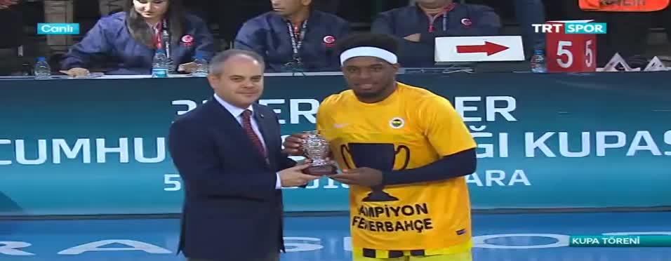 Cumhurba�kanl��� Kupas� Fenerbahçe'nin