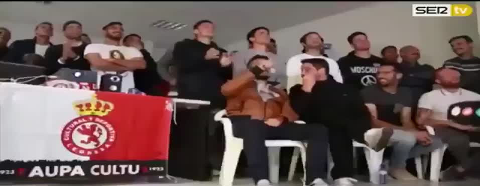 Real Madrid ile e�le�en Cultural futbolcular�n�n tepkisi!