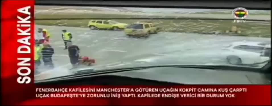 Fenerbahçe uça��ndan görüntüler