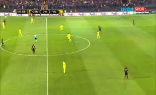 Osmanlıspor'dan Villareal'e 73 saniyede 2 gol