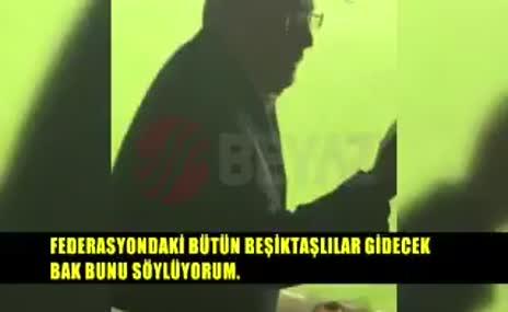 Aziz Yıldırım, Beşiktaş maçında çıldırdı!