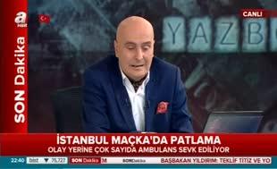Beşiktaş'ta bombalı saldırı