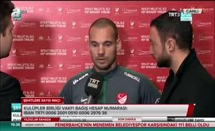 """Sneijder: """"Kendimi Türk gibi hissediyorum"""""""