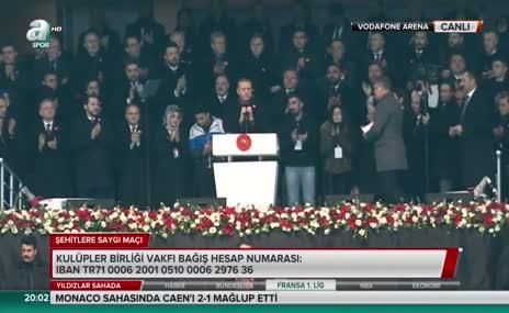 """Cumhurbaşkanı Erdoğan: """"Biz tek milletiz"""""""