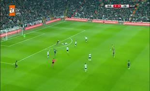 Beşiktaş 10 kişi