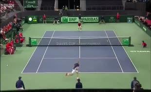 Davis Cup'ta inanılmaz olay