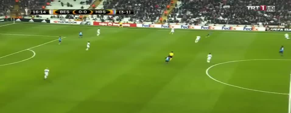 Aboubakar'dan enfes gol