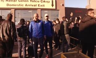 Fenerbahçe'ye Gaziantep'te protestolu karşılama