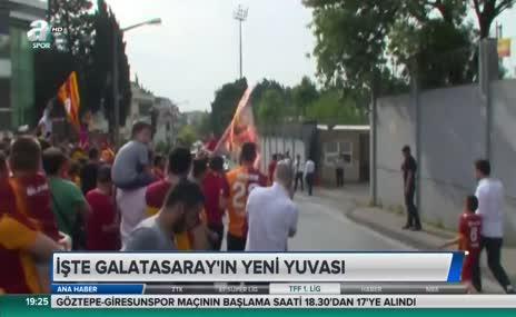 İşte Galatasaray'ın yeni yuvası