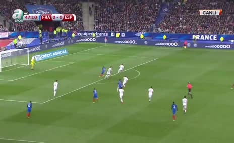 Video hakemin ilk kurbanı Griezmann