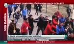 Başakşehirli futbolcular gazeteciye saldırdı