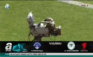 Başakşehir - Fenerbahçe maçı öncesi ilginç görüntü