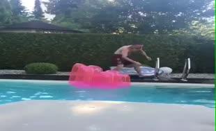 Havuza giren Ribery'nin hazin sonu