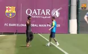 Ronaldinho'dan Barça'ya ziyaret