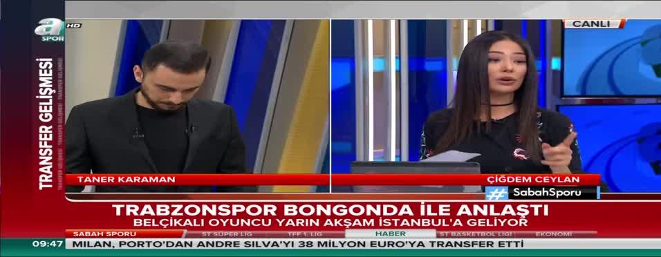 Trabzonspor, Bongonda'yı kadrosuna kattı