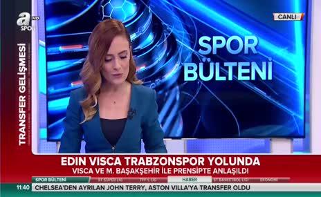 Trabzonspor, Edin Visca ile prensipte anlaştı