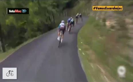 Fransa Bisiklet Turu'nda feci kaza