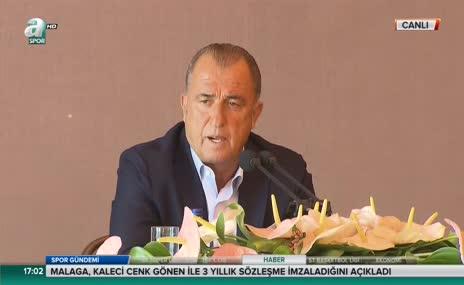 Fatih Terim'den 'Alaçatı' açıklaması