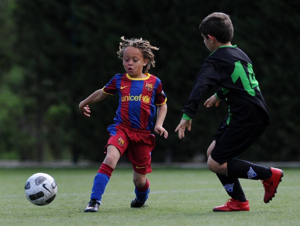 Barcelona'nın geleceği: Xavi Simmons