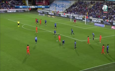 Clubbe Brugge 2-1 Başakşehir (Mossoro 59')