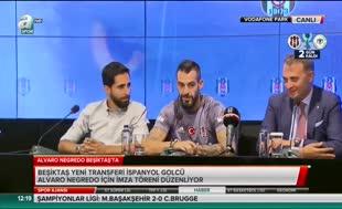 Negredo Beşiktaş'a imzayı attı