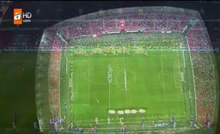 Süper Kupa'ya süper seremoni