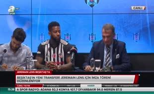 Lens, Beşiktaş'la sözleşme imzaladı