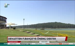 Devletten Fenerbahçe'ye önemli destek