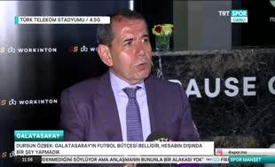 Dursun Özbek'ten Arda Turan yorumu