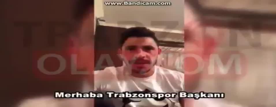 Giuliano'nun Muharrem Usta'ya gönderdiği video ortaya çıktı