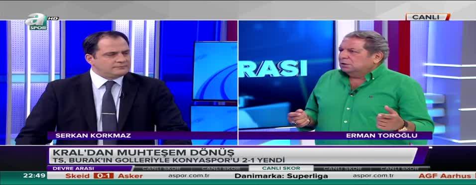 Erman Toroğlu: Beşiktaş'ın orta sahada sorunları var