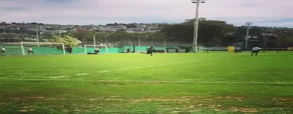 Sneijder'den Nice antrenmanında harika gol