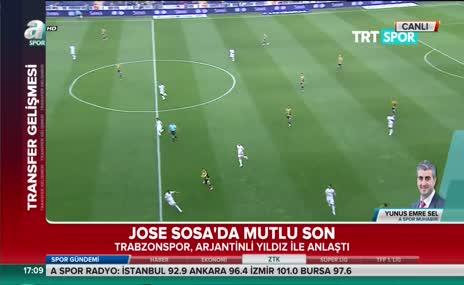 Jose Sosa Trabzonspor'da
